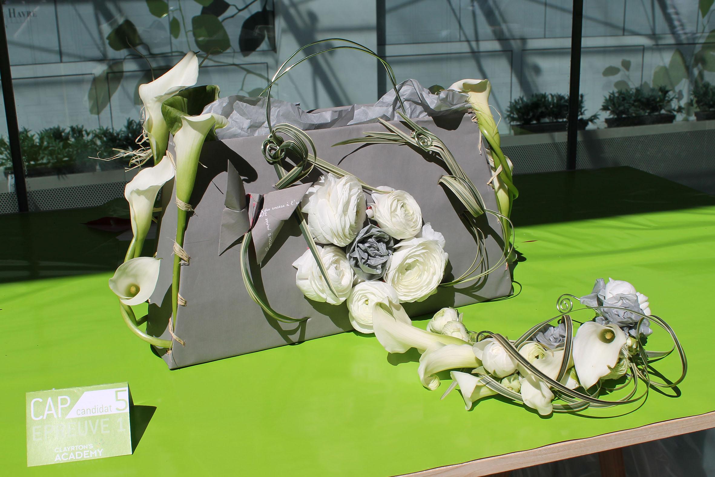 créations proposées par Claire Palun pour la finale